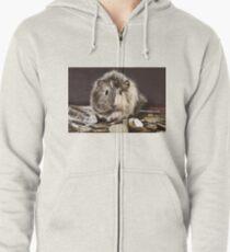 Rich Guinea Pig Pirate Zipped Hoodie