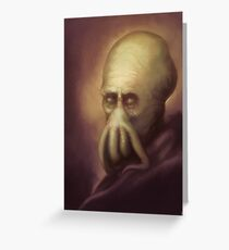 Rembrandt Cthulhu Greeting Card
