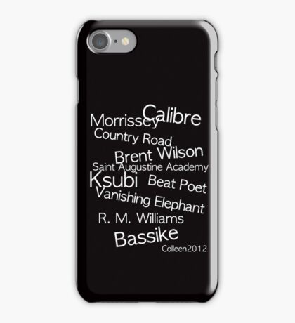 TOP CLASS FASHION DESIGNERS FROM AUSTRALIA IN ONE T-SHIRT iPhone Case/Skin