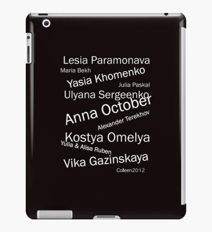 BEST OF EASTERN EUROPEAN FASHION DESIGNERS iPad Case/Skin