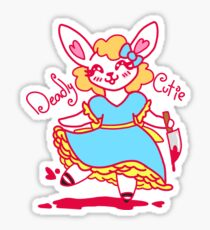 Deadly Cutie Sticker
