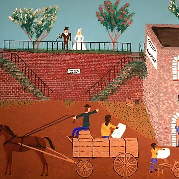 Savannah Georgia 1817 by butterflyartman