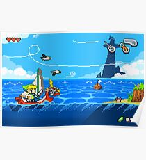 Zelda - Wind Waker Advanced Poster