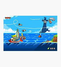 Zelda - Wind Waker Advanced Photographic Print