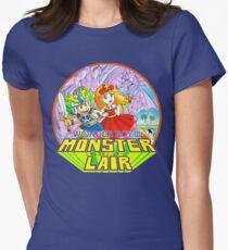 Wonder Boy - Turbografx/PC-Engine Box Art Womens Fitted T-Shirt