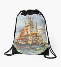 La Citta' Galleggiante Drawstring Bag