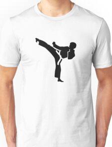 Karate fighter Unisex T-Shirt