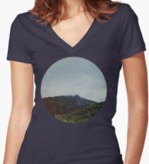 Alaska Frontier Women's Fitted V-Neck T-Shirt