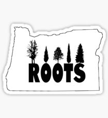 Oregon Roots Sticker