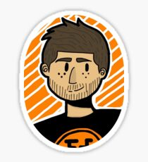 Adam Kovic Doodle Sticker