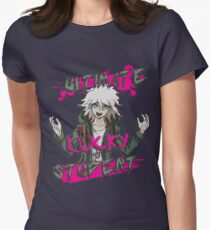 Nagito Komaeda - The Ultimate Lucky Student  Womens Fitted T-Shirt