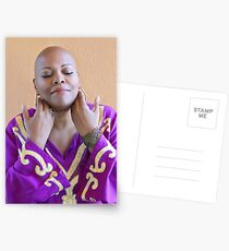 bald is divinely beautiful Postcards