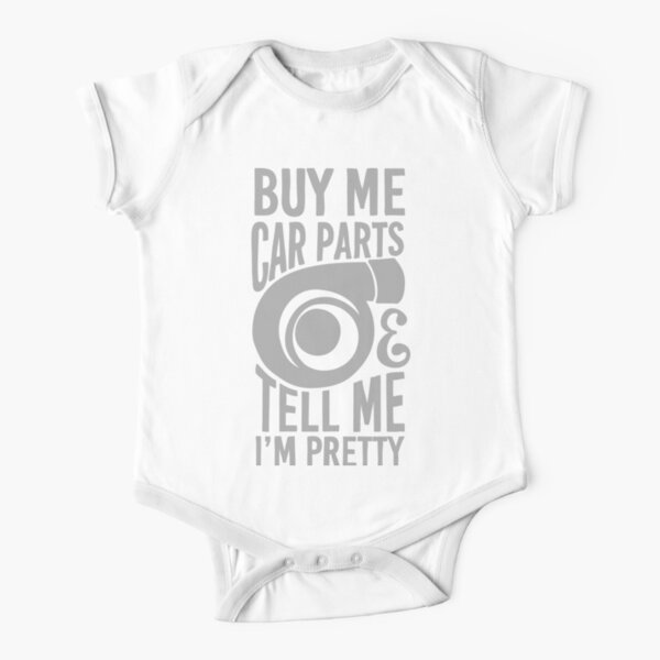 Girls My Auntie Drives a Volkswagen Personalised Baby Vests Bodysuits for Boys