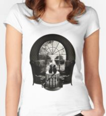 Room Skull Women's Fitted Scoop T-Shirt