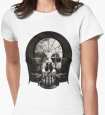 Room Skull Women's Fitted T-Shirt