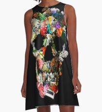 Fragile Skull 2 A-Line Dress