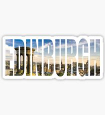 Edinburgh Sticker