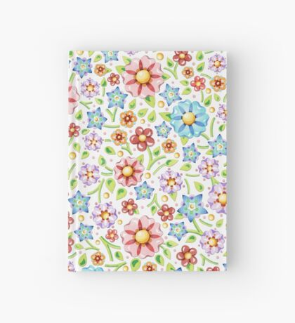 Ditsy Millefiori Pattern Hardcover Journal