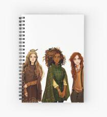 Witch Gang Spiral Notebook