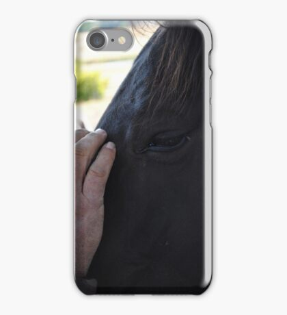 Horses-Second To Mans Best Friend iPhone Case/Skin