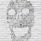 Skull - Shantytown Walls by Felipe Navega
