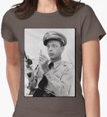 Gun Crazy Barney Women's Fitted T-Shirt