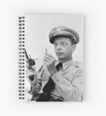 Gun Crazy Barney Spiral Notebook