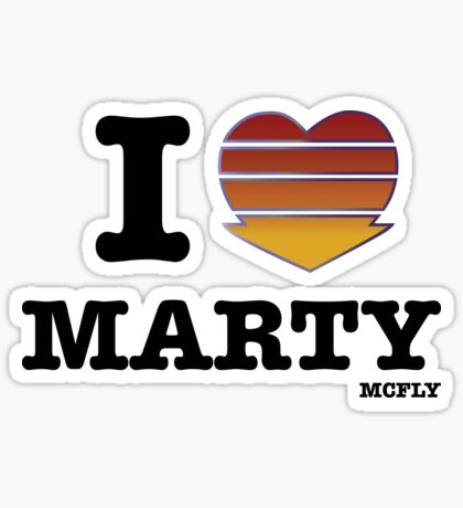 Hello, McFly Sticker