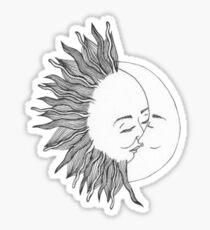 Pegatina Sol y Luna
