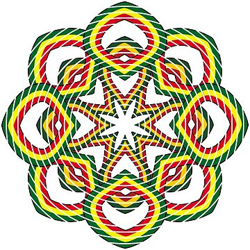 Circle. Green, Yellow and Red. by Ethiohahu