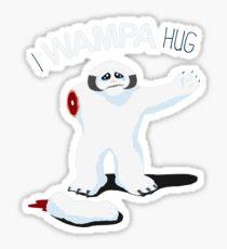 I Wampa Hug. Sticker