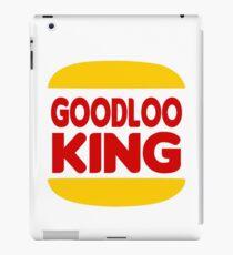 Good Looking: Vintage Burger King Parody iPad Case/Skin