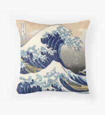 Große Welle vor Kanagawa Dekokissen