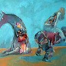 Blue races by Valeriu Buev