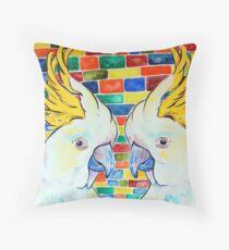 Double Cocky Throw Pillow