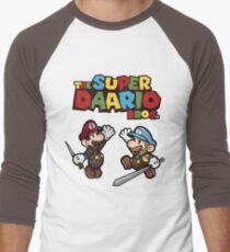The Super Daario Bros. Men's Baseball ¾ T-Shirt