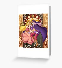 Vaati Zelda Greeting Card
