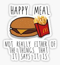 Lies of McDonalds Sticker