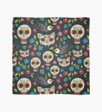 Day of the Dead, a traditional holiday in Mexico.  Scarf