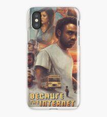 Childish Gambino - Because the Internet Art iPhone Case/Skin