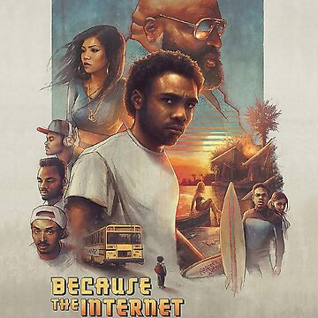 Childish Gambino - Because the Internet Art by dlab0205