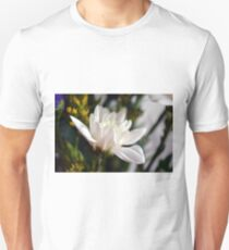 White flower macro. T-Shirt