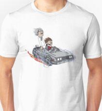 Calvin and Hobbes Back Future T-Shirt