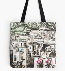 View of Naples Tote Bag