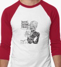 Beer Sucking Freaks (black) Men's Baseball ¾ T-Shirt