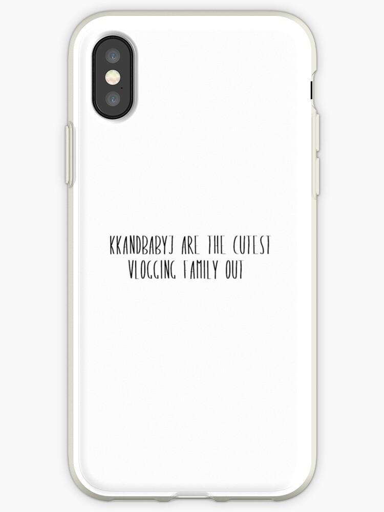 watch ab41b e8a74 'KKandbabyJ Cutest' iPhone Case by vodkairwxn