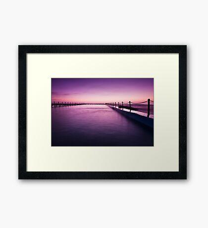 Narrabeen Sunrise II Framed Print