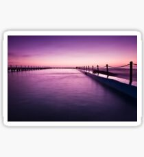Narrabeen Sunrise II Sticker