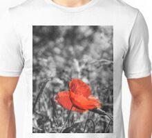 Single Poppy Unisex T-Shirt