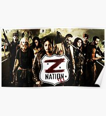 Z nation - cast Poster